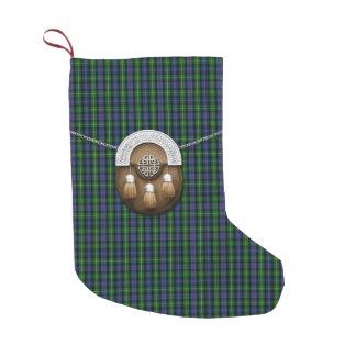 Clan MacKenzie Tartan Small Christmas Stocking