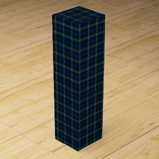Clan Mackenzie Tartan Wine Bottle Boxes
