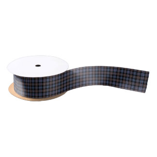 Clan Mackenzie Weathered Tartan Ribbon Satin Ribbon