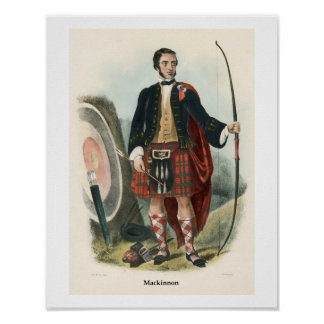 Clan Mackinnon Poster