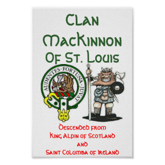 Clan MacKinnon St. Louis Poster