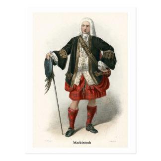 Clan Mackintosh Postcard
