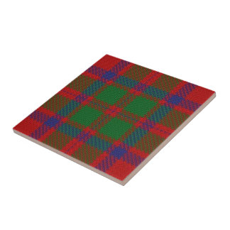 Clan MacKintosh Scottish Expressions Tartan Tile