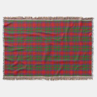 Clan MacKintosh Tartan Throw Blanket