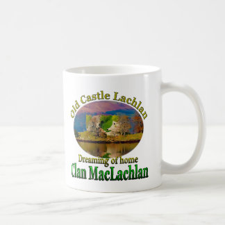 Clan MacLachlan Dreaming of Old Castle Lachlan Coffee Mug