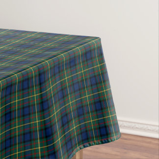 Clan MacLaren Blue and Green Scottish Tartan Tablecloth