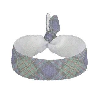 Clan MacLaren Scottish Accents Green Blue Tartan Ribbon Hair Ties
