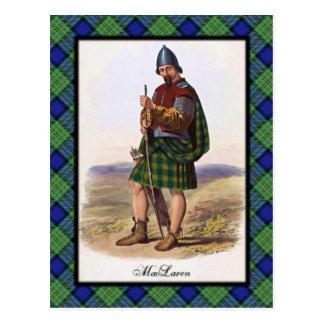 Clan MacLaren Scottish Dreams Postcard