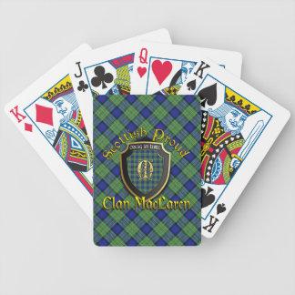 Clan MacLaren Scottish Proud Bicycle Brand Poker Deck