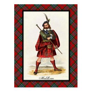 Clan MacLean Scottish Dreams Postcard