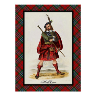 Clan MacLean Scottish Dreams Poster