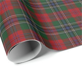 Clan MacLean Scottish Tartan Wrapping Paper