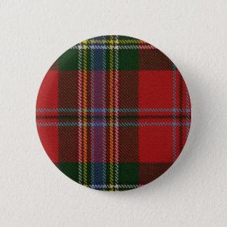 Clan MacLean Tartan Button