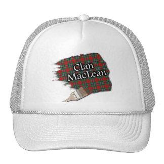 Clan MacLean Tartan Paint Brush Cap Trucker Hat