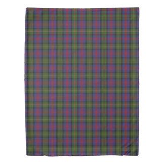 Clan MacLennan Scottish Blue Red Green Tartan Duvet Cover
