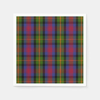 Clan MacLennan Tartan Disposable Napkins