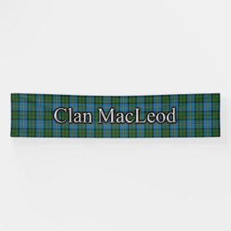 Clan MacLeod of Harris Tartan Scottish Festival Banner