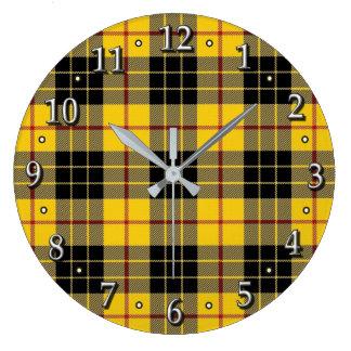 Clan MacLeod of Lewis Tartan Scottish Dream Clock