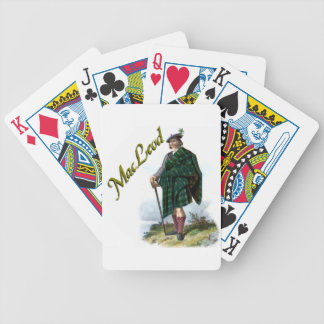 Clan MacLeod Scottish Dream Bicycle Playing Cards