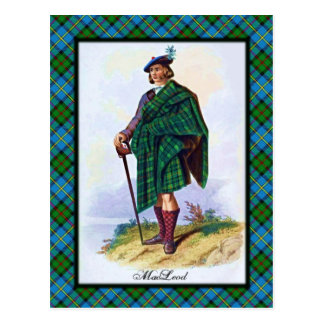 Clan MacLeod Scottish Dreams Postcard