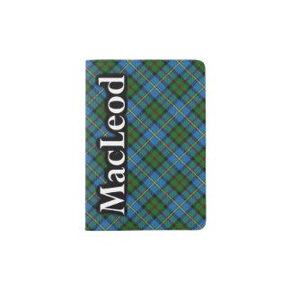 Clan MacLeod Scottish Tartan Passport Holder