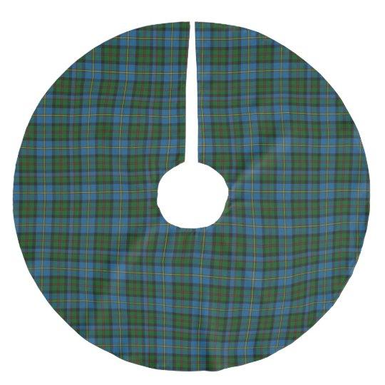 Clan MacLeod Tartan Plaid Tree Skirt Brushed Polyester Tree Skirt