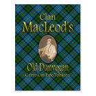 Clan MacLeod's Old Dunvegan Pipe Tobacco Postcard