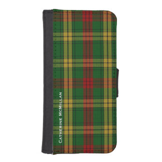 Clan MacMillan Plaid Samsung iPhone 5S Wallet