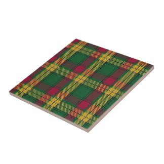 Clan MacMillan Scottish Expressions Tartan Tile
