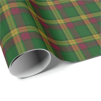 Clan MacMillan Scottish Tartan Wrapping Paper