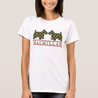 Clan MacMillan Tartan Scottie Dogs T-Shirt