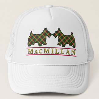 Clan MacMillan Tartan Scottie Dogs Trucker Hat