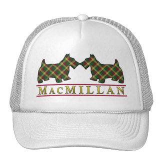 Clan MacMillan Tartan Scottie Dogs Trucker Hat