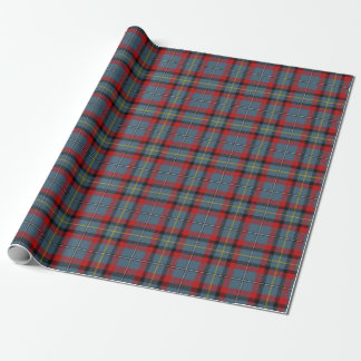 Clan MacNamara McNamara Irish Tartan Plaid Wrapping Paper