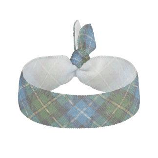 Clan MacNeil Scottish Accents Blue Green Tartan Ribbon Hair Ties