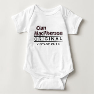 Clan MacPherson Vintage Customize Your Birthyear Baby Bodysuit