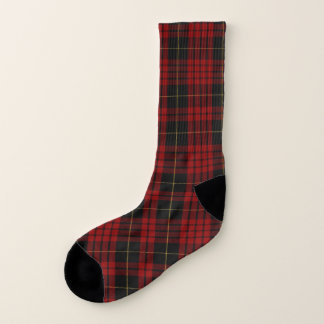 Clan MacQueen Plaid Socks 1