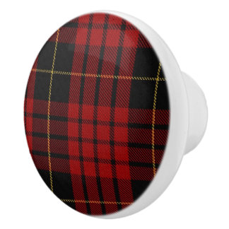 Clan MacQueen Tartan Plaid Drawer Pull