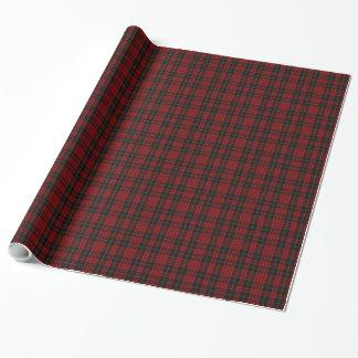 Clan MacQueen Tartan Plaid Wrapping Paper