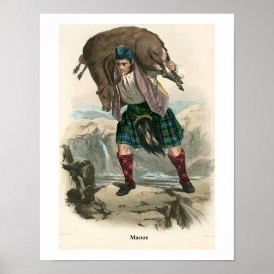 Clan Macrae Poster