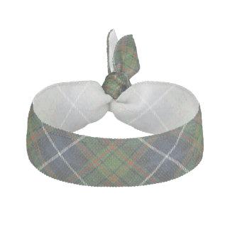 Clan MacRae Scottish Accents Blue Green Tartan Hair Tie