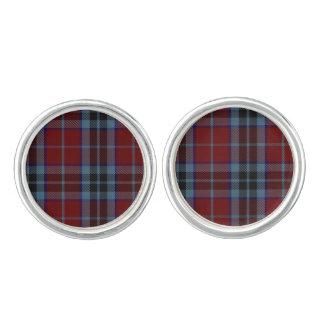 Clan MacTavish Plaid Cuff Links