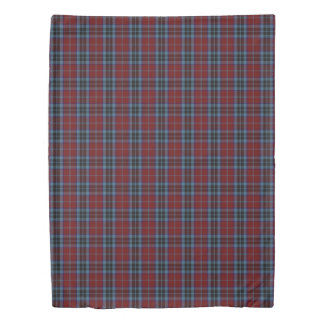 Clan MacTavish Scottish Accents Tartan Duvet Cover
