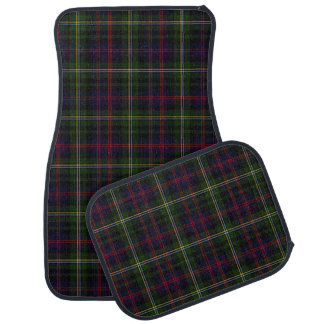 Clan Malcolm Plaid Car Mat Set