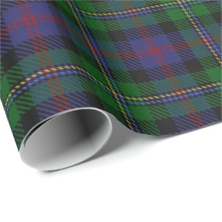 Clan Malcolm Scottish Tartan Wrapping Paper