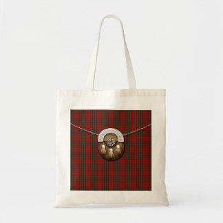 Clan Matheson Tartan And Sporran Tote Bag
