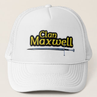 Clan Maxwell Scottish Inspiration Trucker Hat