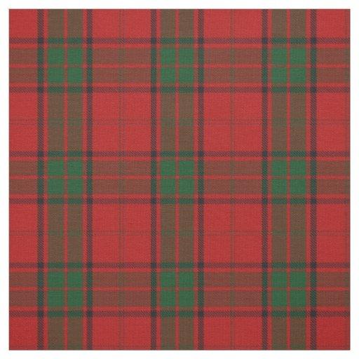 Clan Maxwell Scottish Tartan Plaid Fabric