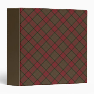 Clan Maxwell Weathered Hunting Tartan Vinyl Binders