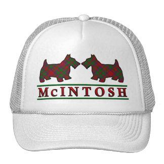Clan McIntosh Tartan Scottie Dogs Trucker Hat